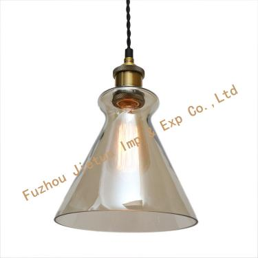 Glass pendant lamp BL-14