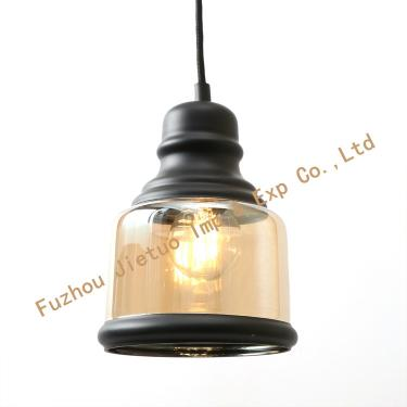Glass pendant lamp BL-16